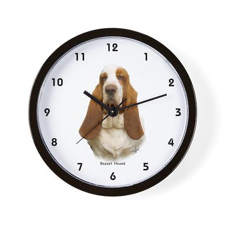 Basset Hound 9L9D-22 Wall Clock
