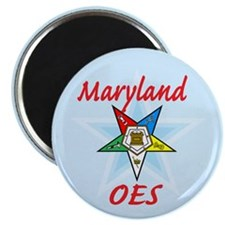 "Maryland Eastern Star 2.25"" Magnet (100 pack)"