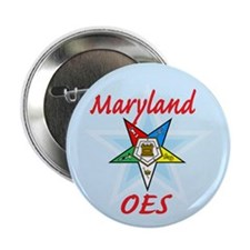 """Maryland Eastern Star 2.25"""" Button (10 pack)"""