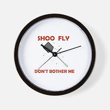 SHOO FLY Wall Clock
