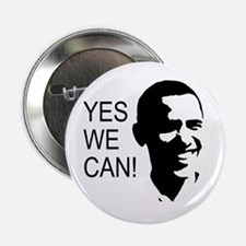 """Obama's Face: 2.25"""" Button (100 pack)"""