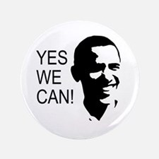 """Obama's Face: 3.5"""" Button (100 pack)"""