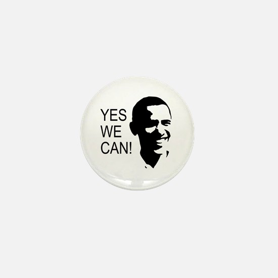 Obama's Face: Mini Button
