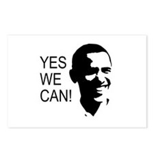 Obama's Face: Postcards (Package of 8)