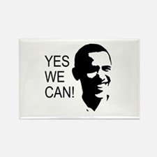 Obama's Face: Rectangle Magnet (10 pack)