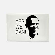 Obama's Face: Rectangle Magnet (100 pack)