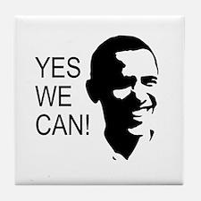 Obama's Face: Tile Coaster