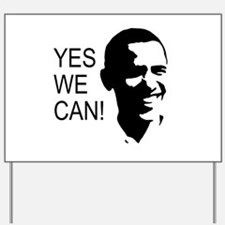 Obama's Face: Yard Sign