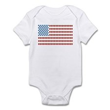 Fruit American Flag Infant Bodysuit