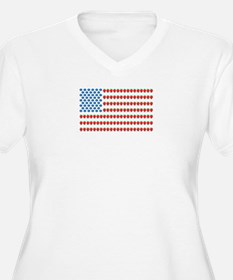 Fruit American Flag T-Shirt