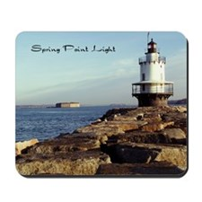 Spring Point Light Mousepad