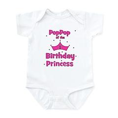 1st Birthday Princess's PopPo Infant Bodysuit