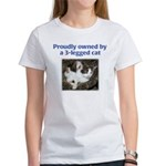 3-Legged Cat Women's T-Shirt