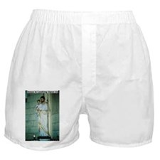Jesus is Looking Upon Us Boxer Shorts