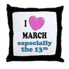 PH 3/13 Throw Pillow