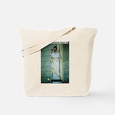 Jesus is Looking Upon Us Tote Bag