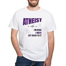 Atheist I Vote Shirt