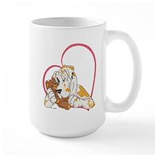 NFQN Heartline Teddy Hug Mug