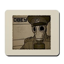 """Obey"" Mousepad"