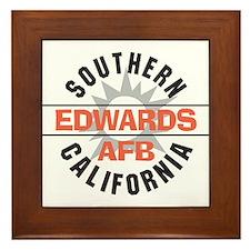 Edwards Air Force Base Framed Tile