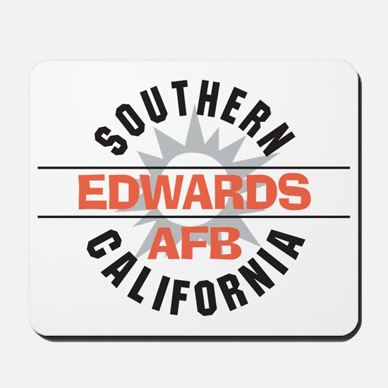 Edwards Air Force Base Mousepad