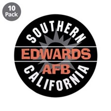 """Edwards Air Force Base 3.5"""" Button (10 pack)"""