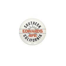 Edwards Air Force Base Mini Button