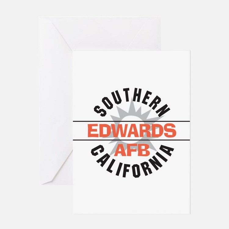 Edwards Air Force Base Greeting Card