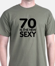 70 is the new sexy T-Shirt