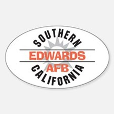 Edwards Air Force Base Oval Decal