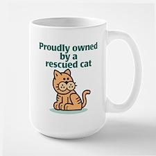 Proudly Owned (Cat) Mug