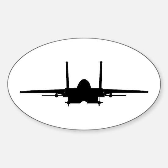 F15 Eagle Oval Decal