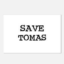 Save Tomas Postcards (Package of 8)
