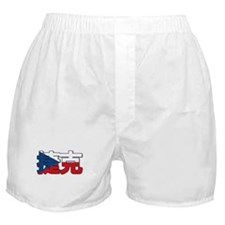 Czech Republic in Chinese Boxer Shorts