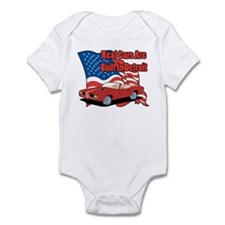 Muscle Car Real Cars Infant Bodysuit