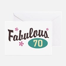 Fabulous 70 Greeting Cards (Pk of 10)