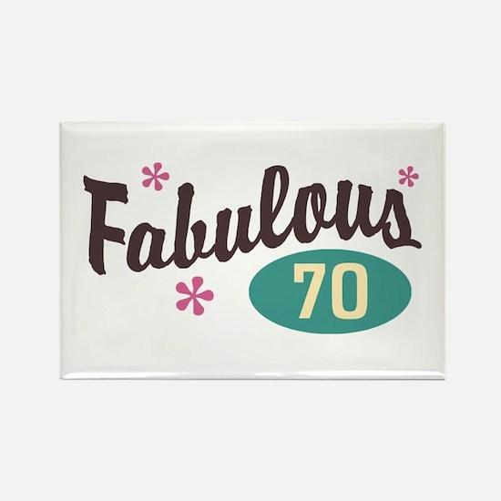 Fabulous 70 Rectangle Magnet