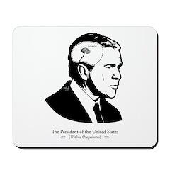 Bush: Tiny Brain Mousepad