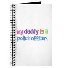 My Daddy Is A Police Officer PASTEL Journal