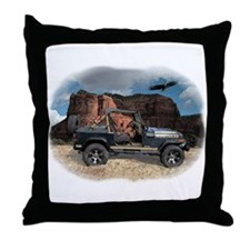 Wrangler Throw Pillow