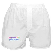 My Mommy Is A Police Officer PASTEL Boxer Shorts