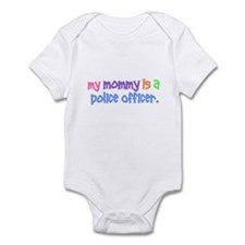 My Mommy Is A Police Officer PASTEL Infant Bodysui