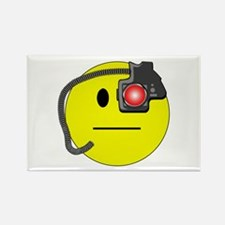 Assimilated Smiley Rectangle Magnet