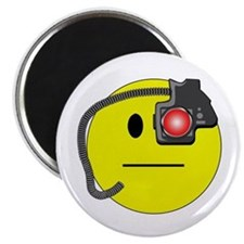 Assimilated Smiley Magnet
