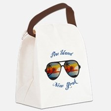 Cool Fire island Canvas Lunch Bag