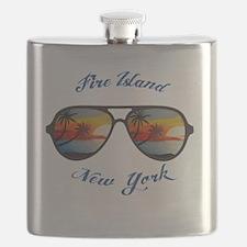 Cool Fire island Flask