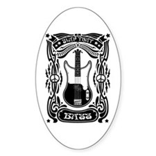 Slap That Bass Oval Decal