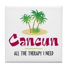 Cancun Therapy - Tile Coaster
