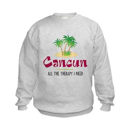 Cancun Therapy - Kids Sweatshirt