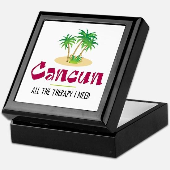 Cancun Therapy - Keepsake Box